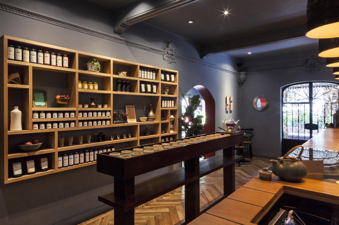 teahouse interior design in - photo #2