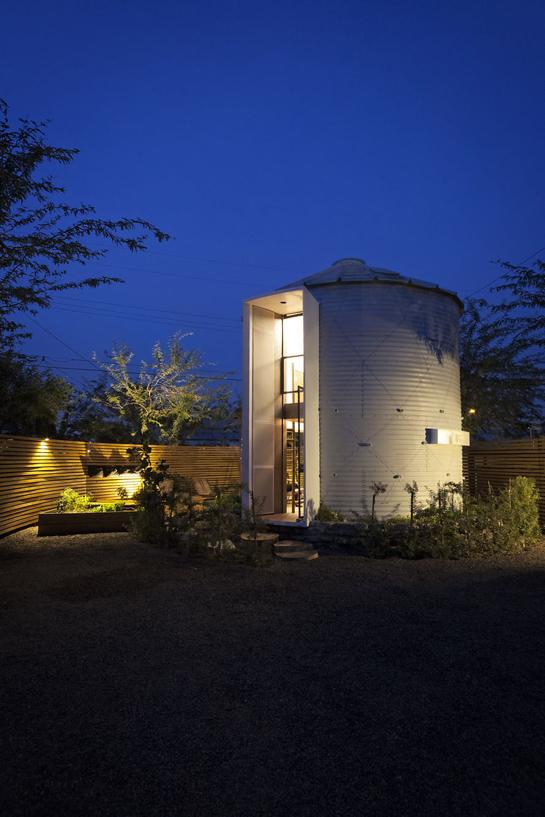 Silo house attitude interior design magazine for Silo home designs