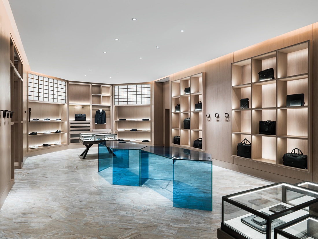 Ports 1961 shangai flagship retail space attitude for Commercial space design
