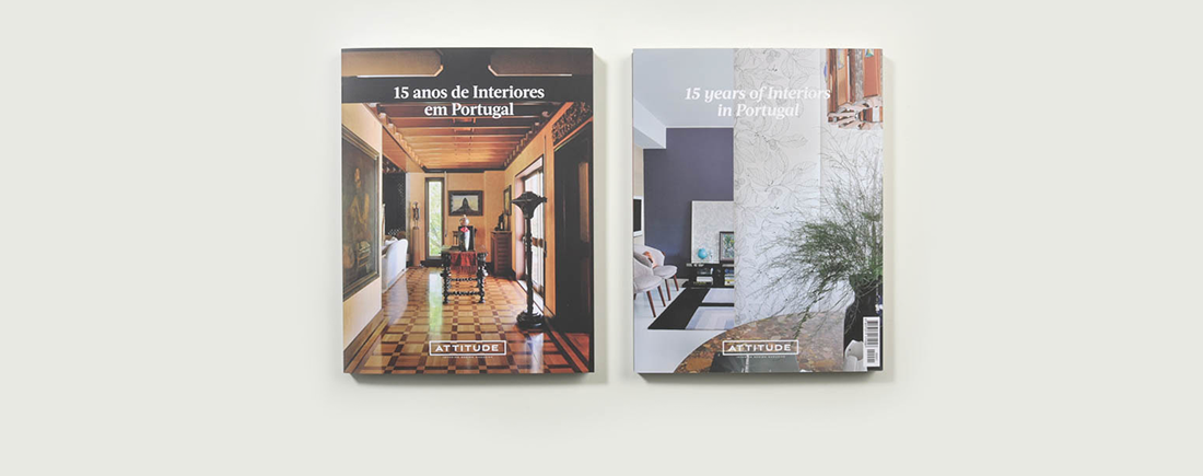 '15 years of Interiors in Portugal', the first book by Attitude
