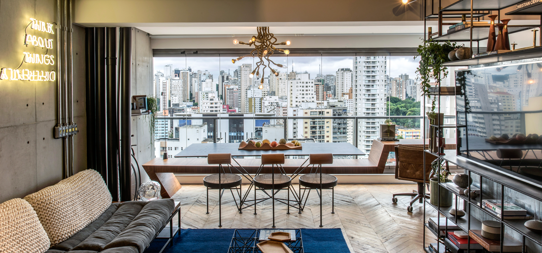 An Upcycling Apartment in São Paulo