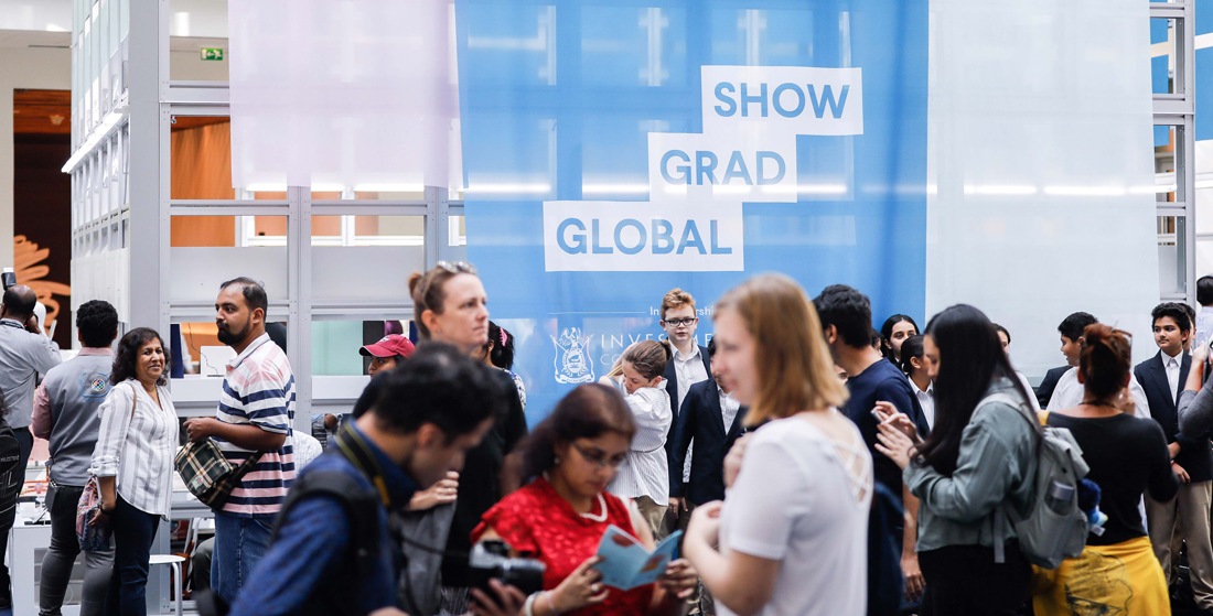Global Grad Show: Developing Solutions to Collateral Issues of COVID-19<br />